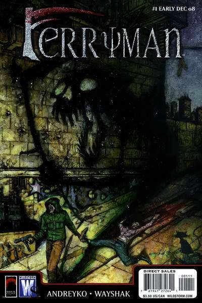 Ferryman comic books