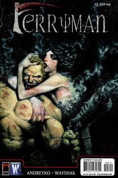 Ferryman #3 comic books - cover scans photos Ferryman #3 comic books - covers, picture gallery