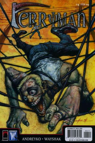 Ferryman #4 comic books - cover scans photos Ferryman #4 comic books - covers, picture gallery