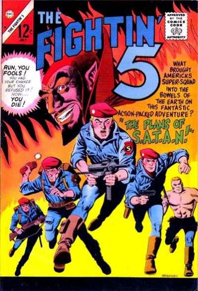 Fightin' Five #38 Comic Books - Covers, Scans, Photos  in Fightin' Five Comic Books - Covers, Scans, Gallery