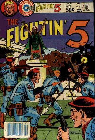 Fightin' Five #43 Comic Books - Covers, Scans, Photos  in Fightin' Five Comic Books - Covers, Scans, Gallery