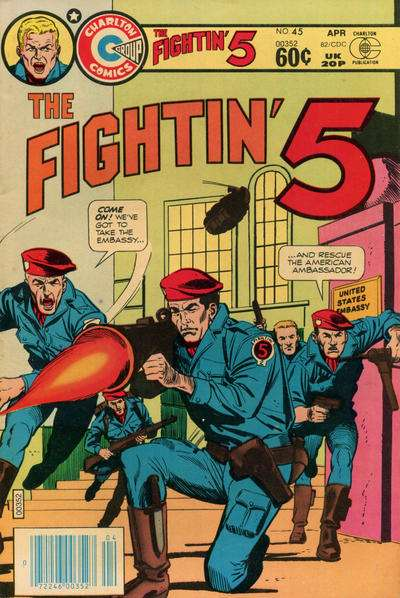 Fightin' Five #45 Comic Books - Covers, Scans, Photos  in Fightin' Five Comic Books - Covers, Scans, Gallery