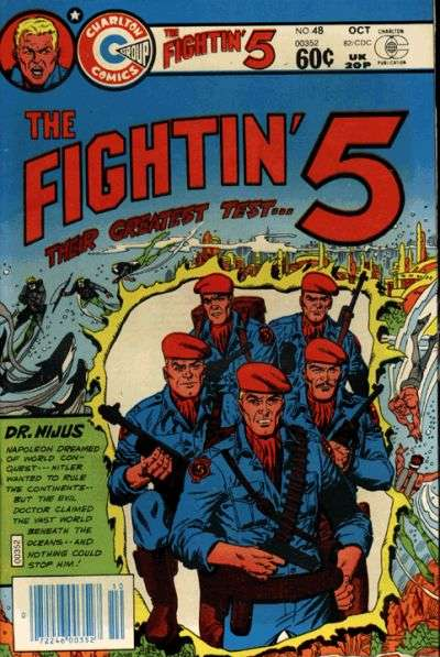 Fightin' Five #48 Comic Books - Covers, Scans, Photos  in Fightin' Five Comic Books - Covers, Scans, Gallery