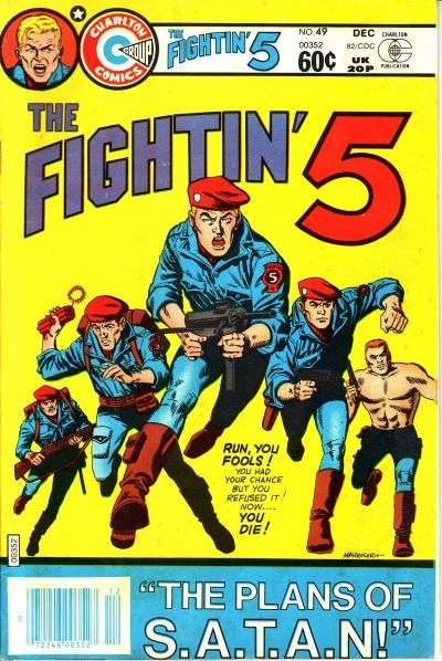 Fightin' Five #49 Comic Books - Covers, Scans, Photos  in Fightin' Five Comic Books - Covers, Scans, Gallery