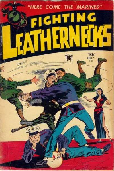 Fighting Leathernecks Comic Books. Fighting Leathernecks Comics.