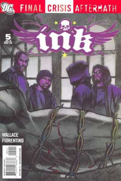 Final Crisis Aftermath: Ink #5 comic books for sale