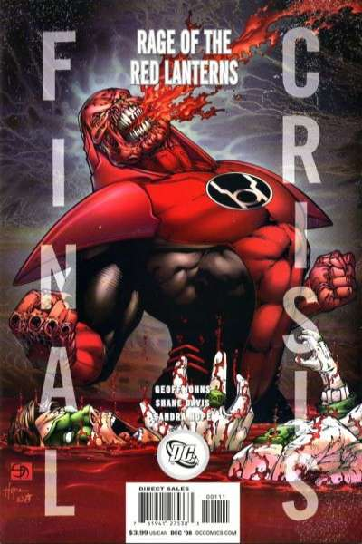 Final Crisis: Rage of the Red Lanterns Comic Books. Final Crisis: Rage of the Red Lanterns Comics.