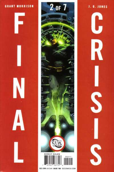 Final Crisis #2 comic books for sale
