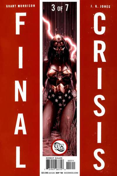 Final Crisis #3 comic books for sale