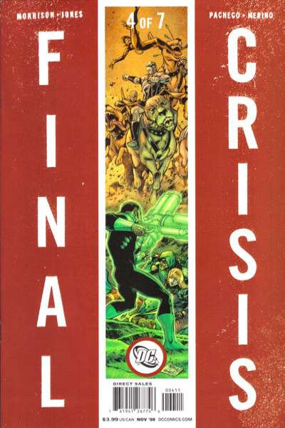 Final Crisis #4 Comic Books - Covers, Scans, Photos  in Final Crisis Comic Books - Covers, Scans, Gallery