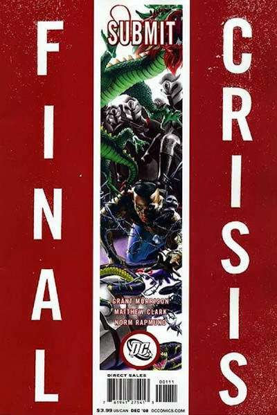 Final Crisis #1 comic books for sale