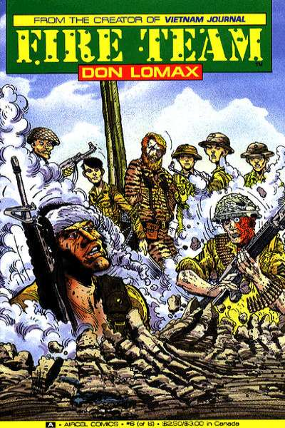 Fire Team #6 Comic Books - Covers, Scans, Photos  in Fire Team Comic Books - Covers, Scans, Gallery