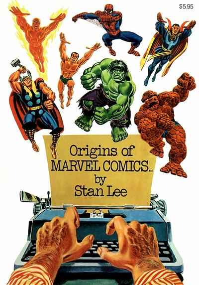 Fireside Book Series: Origins of Marvel Comics comic books