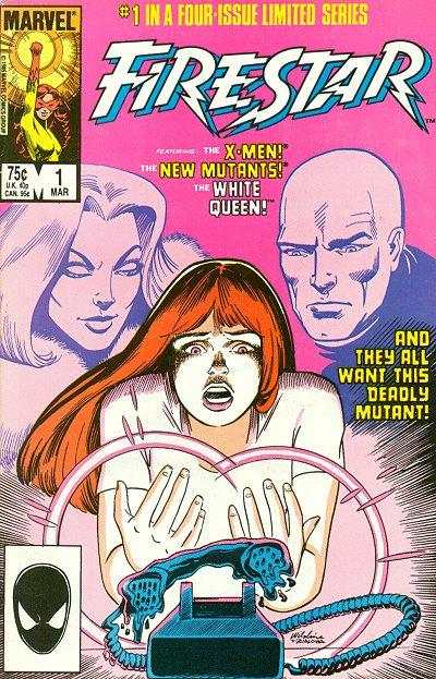 Firestar #1 Comic Books - Covers, Scans, Photos  in Firestar Comic Books - Covers, Scans, Gallery