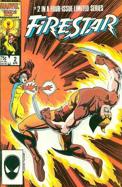 Firestar #2 Comic Books - Covers, Scans, Photos  in Firestar Comic Books - Covers, Scans, Gallery