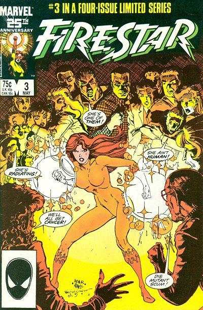 Firestar #3 comic books - cover scans photos Firestar #3 comic books - covers, picture gallery