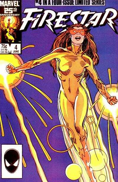 Firestar #4 Comic Books - Covers, Scans, Photos  in Firestar Comic Books - Covers, Scans, Gallery