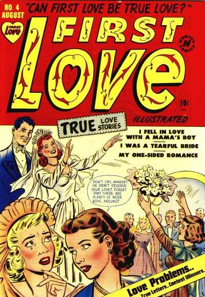 First Illustrated Book Cover : First love illustrated comic books for sale buy old