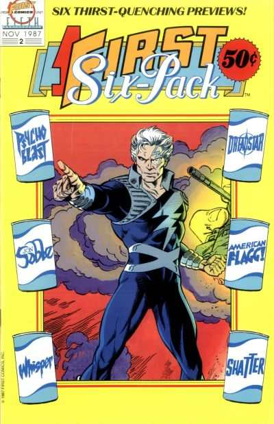 First Six Pack #2 comic books - cover scans photos First Six Pack #2 comic books - covers, picture gallery