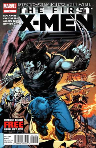 First X-Men #2 comic books - cover scans photos First X-Men #2 comic books - covers, picture gallery