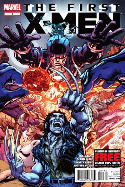 First X-Men #4 Comic Books - Covers, Scans, Photos  in First X-Men Comic Books - Covers, Scans, Gallery