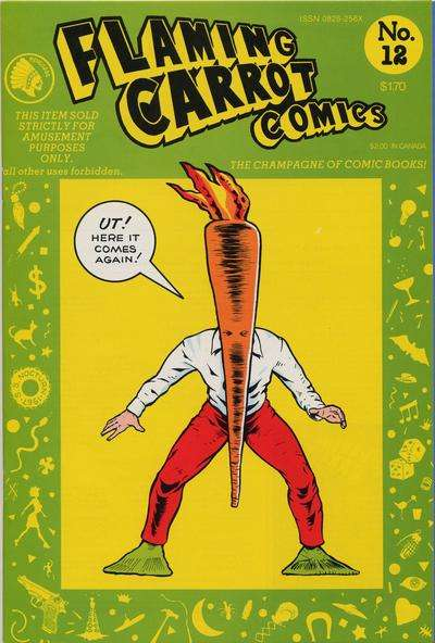 Flaming Carrot Comics #12 Comic Books - Covers, Scans, Photos  in Flaming Carrot Comics Comic Books - Covers, Scans, Gallery
