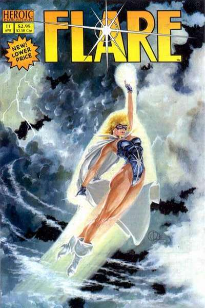 Flare #11 Comic Books - Covers, Scans, Photos  in Flare Comic Books - Covers, Scans, Gallery