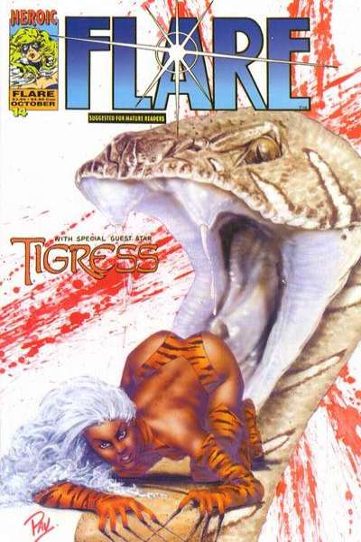 Flare #14 Comic Books - Covers, Scans, Photos  in Flare Comic Books - Covers, Scans, Gallery