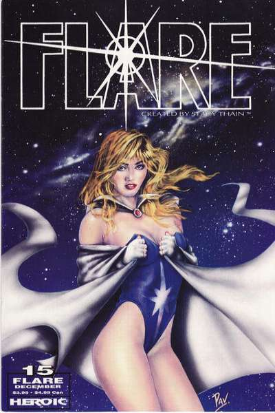 Flare #15 comic books for sale