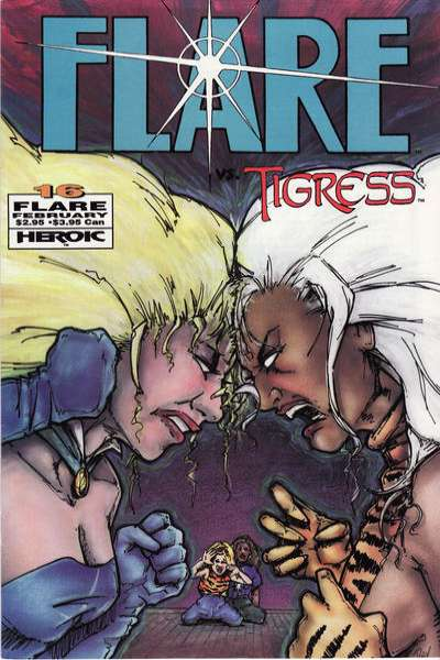 Flare #16 Comic Books - Covers, Scans, Photos  in Flare Comic Books - Covers, Scans, Gallery