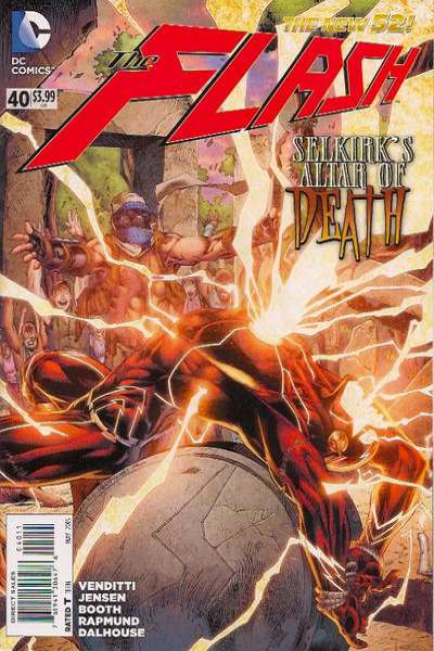Flash #40 comic books for sale
