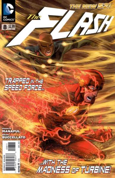 Flash #8 Comic Books - Covers, Scans, Photos  in Flash Comic Books - Covers, Scans, Gallery
