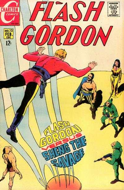 Flash Gordon #12 Comic Books - Covers, Scans, Photos  in Flash Gordon Comic Books - Covers, Scans, Gallery