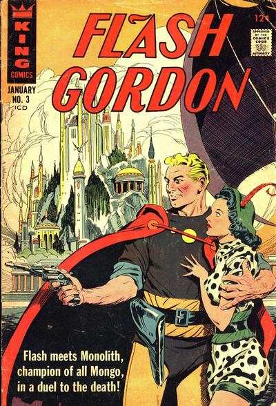 Flash Gordon #3 comic books - cover scans photos Flash Gordon #3 comic books - covers, picture gallery