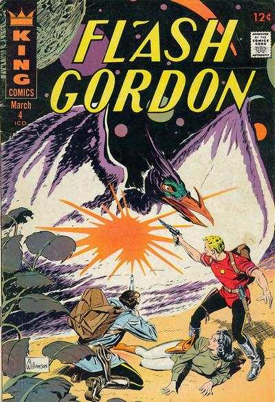 Flash Gordon #4 Comic Books - Covers, Scans, Photos  in Flash Gordon Comic Books - Covers, Scans, Gallery