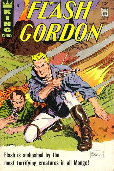Flash Gordon #5 comic books - cover scans photos Flash Gordon #5 comic books - covers, picture gallery
