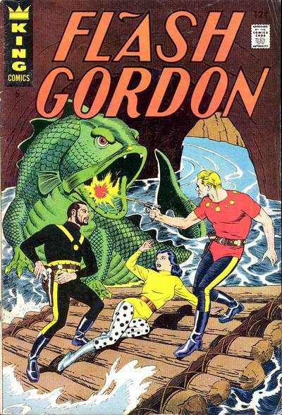 Flash Gordon #6 Comic Books - Covers, Scans, Photos  in Flash Gordon Comic Books - Covers, Scans, Gallery