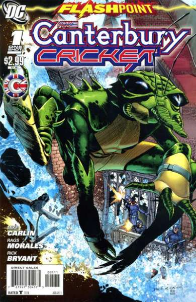 Flashpoint: The Canterbury Cricket #1 comic books for sale