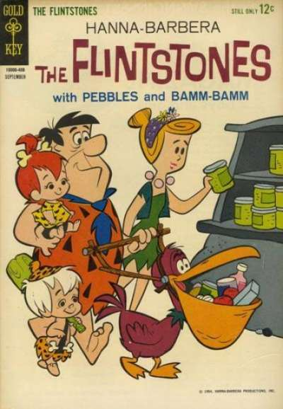 Flintstones #21 comic books - cover scans photos Flintstones #21 comic books - covers, picture gallery