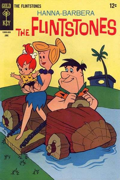 Flintstones #46 Comic Books - Covers, Scans, Photos  in Flintstones Comic Books - Covers, Scans, Gallery