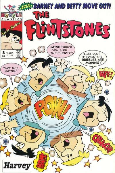 Flintstones #8 Comic Books - Covers, Scans, Photos  in Flintstones Comic Books - Covers, Scans, Gallery