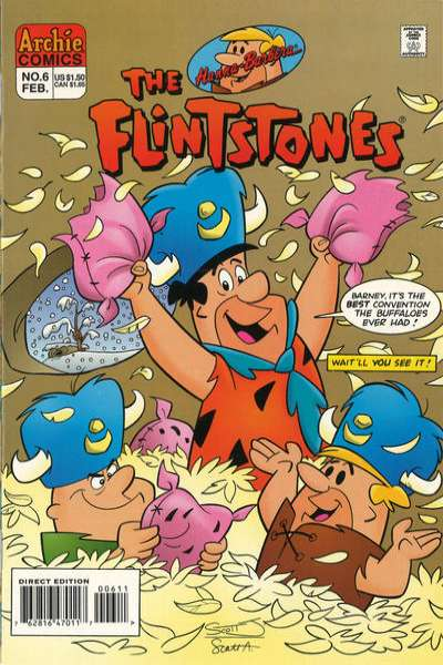 Flintstones #6 comic books for sale