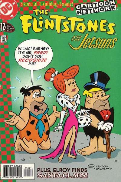 Flintstones and the Jetsons #18 comic books - cover scans photos Flintstones and the Jetsons #18 comic books - covers, picture gallery