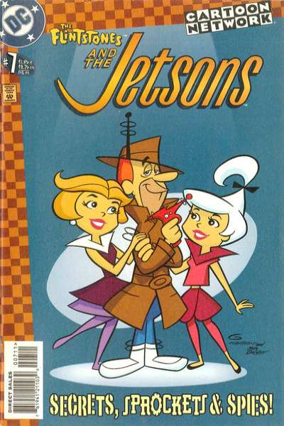 Flintstones and the Jetsons #7 comic books - cover scans photos Flintstones and the Jetsons #7 comic books - covers, picture gallery