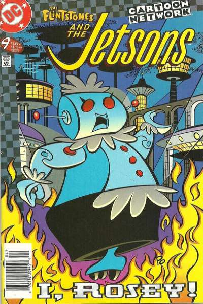 Flintstones and the Jetsons #9 Comic Books - Covers, Scans, Photos  in Flintstones and the Jetsons Comic Books - Covers, Scans, Gallery