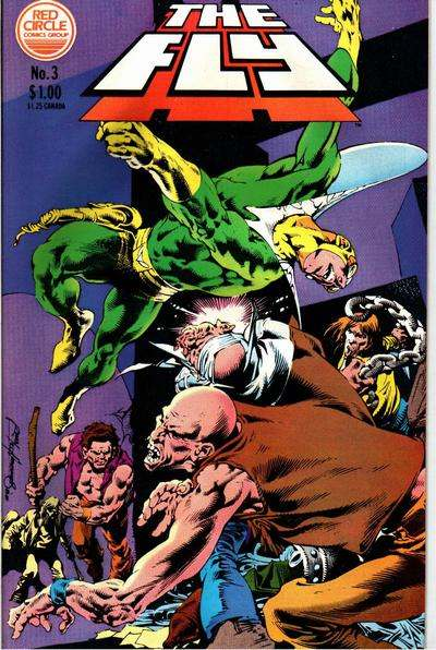 Fly #3 cheap bargain discounted comic books Fly #3 comic books