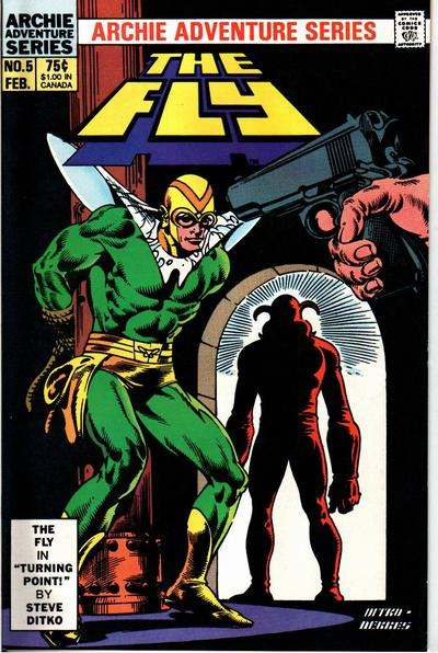 Fly #5 Comic Books - Covers, Scans, Photos  in Fly Comic Books - Covers, Scans, Gallery
