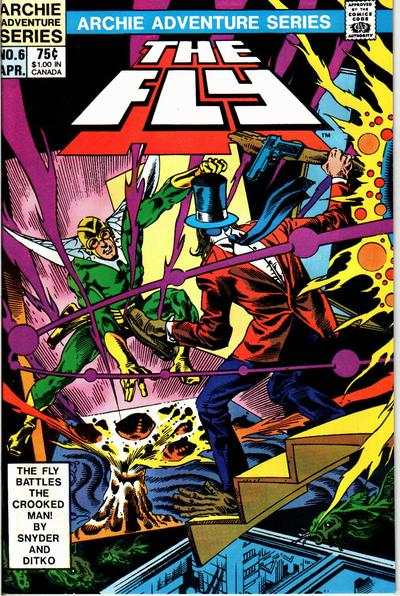 Fly #6 Comic Books - Covers, Scans, Photos  in Fly Comic Books - Covers, Scans, Gallery