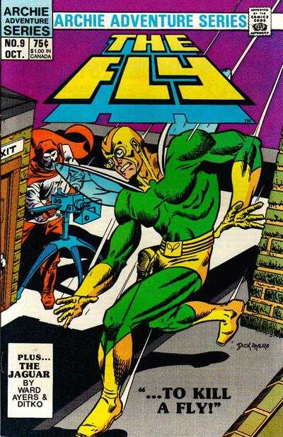 Fly #9 Comic Books - Covers, Scans, Photos  in Fly Comic Books - Covers, Scans, Gallery