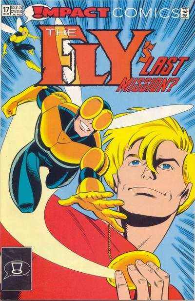 Fly #17 Comic Books - Covers, Scans, Photos  in Fly Comic Books - Covers, Scans, Gallery